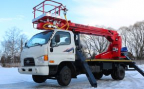Автовышка Hyundai-18 метров